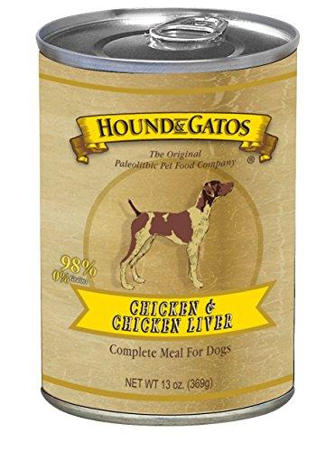 HOUND & GATOS PET FOOD Chicken Formula Canned Dog Food, 13 oz., 12-Pack by HOUND & GATOS PET FOOD