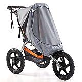 BOB Sun Shield for Single Sport Utility Stroller Ironman Models - Gray
