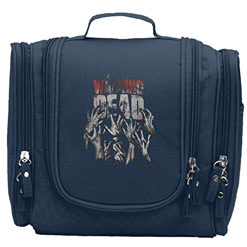 Walking Dead Hands Reaching Cosmetic Makeup Bag