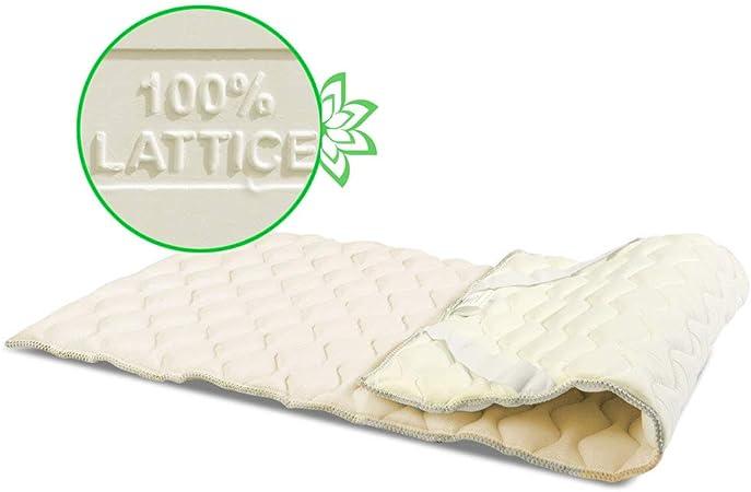 Materassi Lattice Memory Miglior Prezzo.Geemma S R L Topper Correggi Materasso 100 Lattice Al Miglior