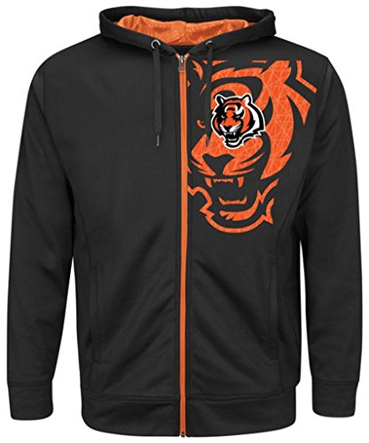 Cincinnati Bengals Full Zip Fleece - 6
