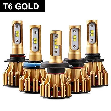 Oslamp H4 H7 H11 H1 H3 9005 9006 COB LED Car Headlight Bulbs Hi-Lo Beam 72W