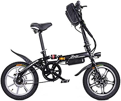 Riscko Wonduu Bicicleta Eléctrica Plegable MT Super Bike Negro ...