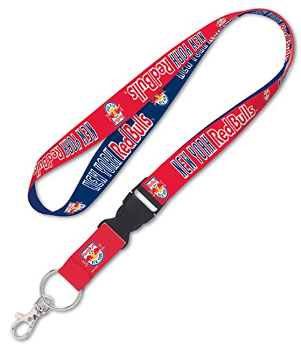 WinCraft SOCCER New York Red Bulls Lanyard with Detachable Buckle, ()