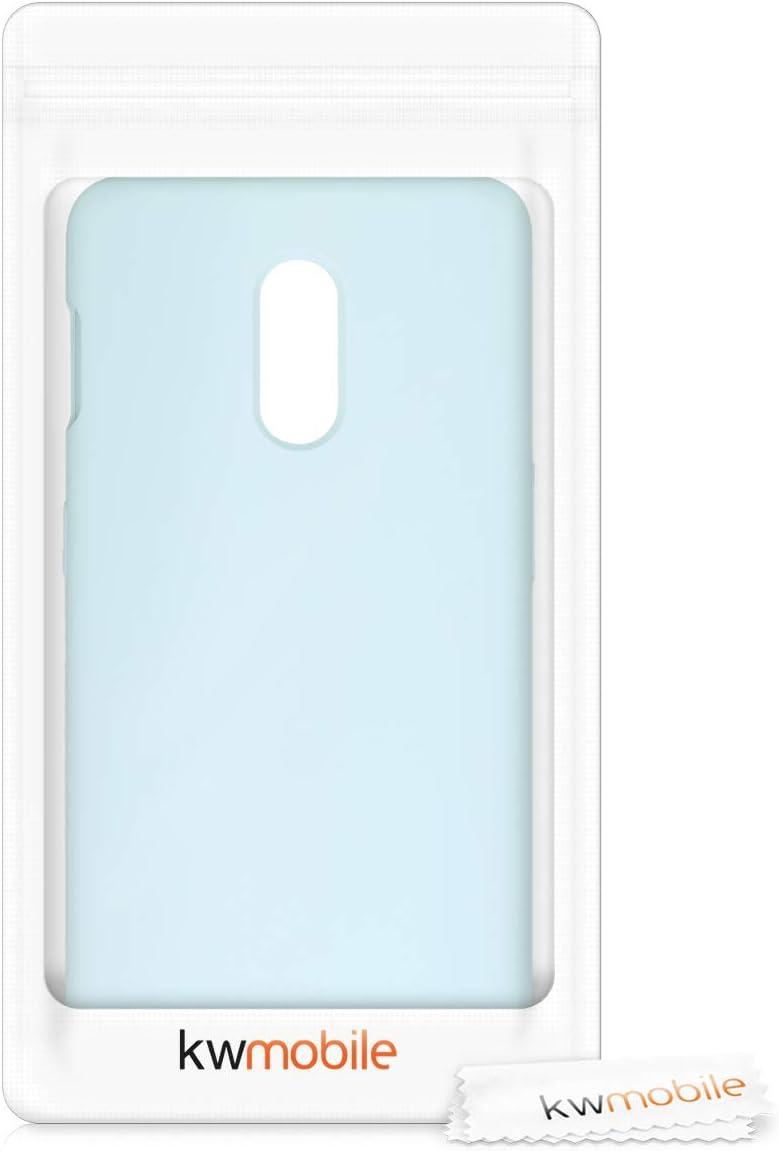 Carcasa de TPU para m/óvil kwmobile Funda Compatible con OnePlus 6T Cover Trasero en Lila