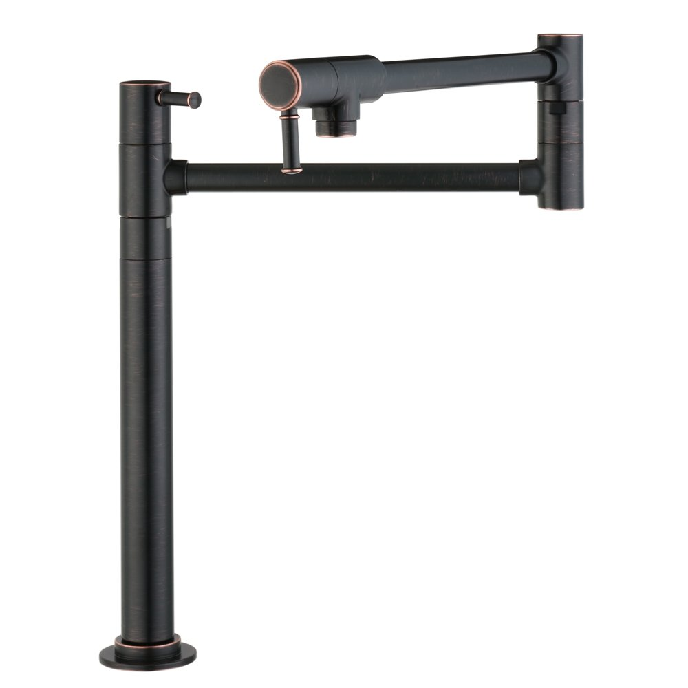 Hansgrohe 04219920 Talis C Pot Filler Deck Mounted Rubbed Bronze