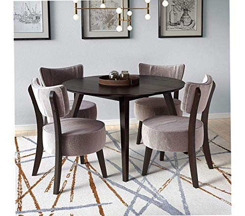 Deluxe Premium Collection Atwood Dining Set Decor Comfy Living Furniture
