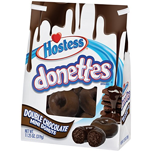 Hostess Double Chocolate Donette Bag, 11.25 oz., (6 count) by Hostess (Image #1)