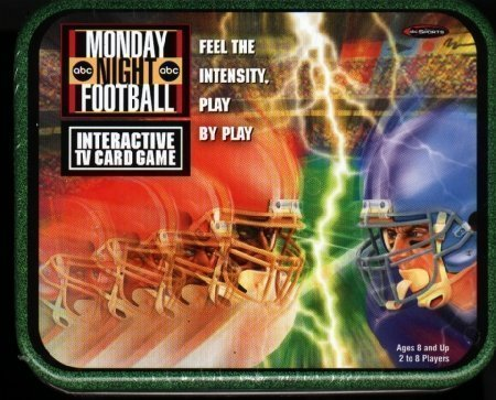 MNF Monday Night Football Tv Card Game