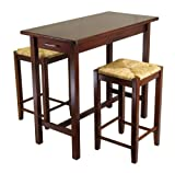 Winsome 3 Piece Counter Height Dining Set Part No. 94374