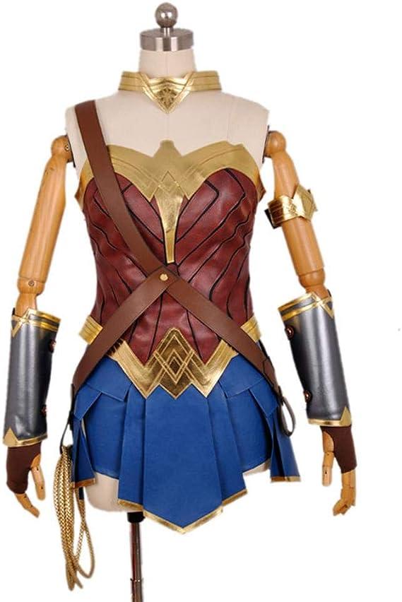 werty Cosplay Ropa Wonder Woman Cosplay Disfraz Lycra Medias ...