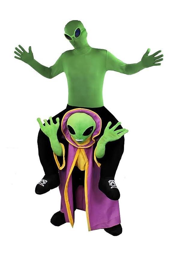 ILOVEFANCYDRESS Disfraz A Hombros DE Extraterrestre para Adultos ...