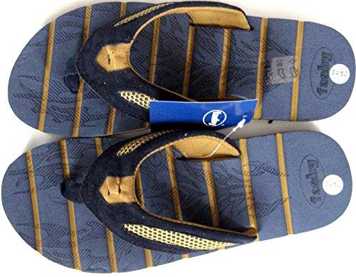Fashy Sangle V de Messieurs séparateurs d'Bain Pantoletten Bleu 41–46Art. 43262.8
