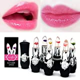 Pack of 6 Crystal Flower Jelly Lipstick, FirstFly
