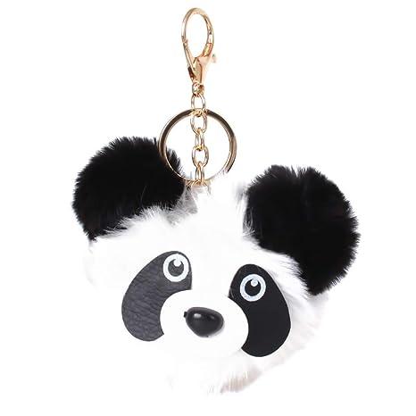 LGJJJ Llavero de Pelota diseño de Oso Panda, para Perro ...
