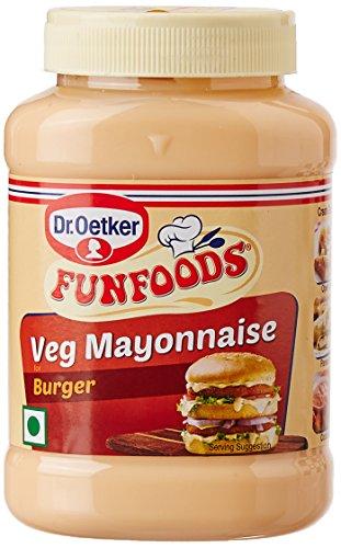 Funfoods Burger Mayonnaise Eggless, 250g