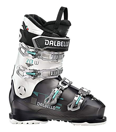 Dalbello DS MX 70 W Womens Ski Boots 2020-23.5/Black Transparent-White