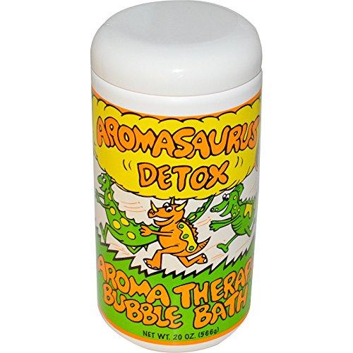 Abra Therapeutics, Aromasaurus Detox Aroma Therapy Bubble Bath For Children, 20 oz (566 g) - - Abra Bubble Therapeutics Aroma Bath