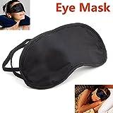 Ziaxa(TM) 3 Pcs/Lot Portable Soft Travel Sleep Rest Aid Eye Mask Cover Eye Patch Sleeping Mask Black Shade Blindfold Eye Patch H072
