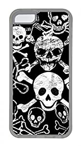 Hot iPhone 5C Case - Cool Skull 23 Lovely Milk Bottles Funny Lovely Best Cool Customize iPhone 5C Cover TPU Transparent hjbrhga1544