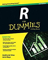 Image of the product R for Dummies Paperback that is listed on the catalogue brand of For Dummies.