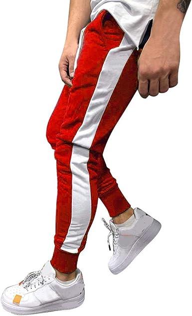 Pantalón Chandal Hombre Pantalones Deportivos Cordón Ajustado ...