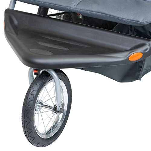 Baby Double Stroller Carbon