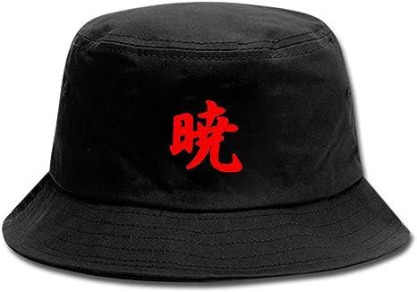 Anime Naruto Sombrero Pescador Unisex Aire Libre Sombrero de ala Ancha Borde Redondo para Excursionismo C/ámping De Viaje Pescar