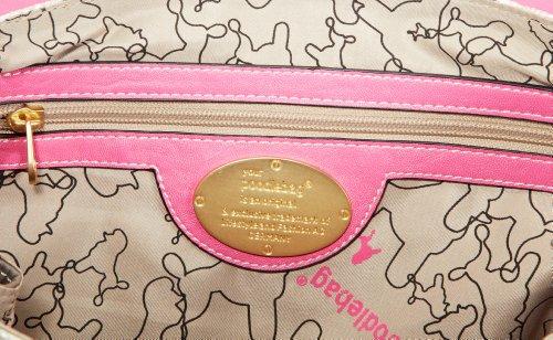 Cm Funkyline Pink X H Poodlebags Bolsa Compra Remix Color b De Talla Tree Material Sintético La Lipstick Mujer T Exotic 36x27x14 Snake 4qAAdT
