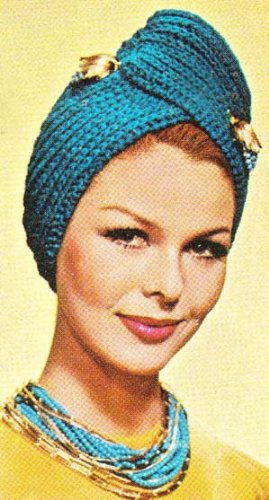 Knit Turban Hat Pattern Vintage Knitting Kindle Edition By Unknown