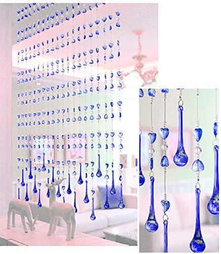 ISMART Plastic Curtain, 5 Feet, Blue