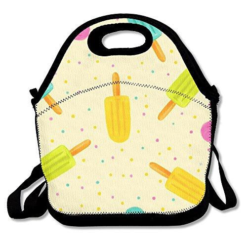 MAGGIE SALAS Beautiful Ice Cream Classical Lunch Bag Travelling Picnic Storage Bags Backpack Handbag