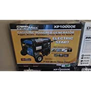 Duromax XP10000E 10,000 Watt 16 Hp OHV 4-cycle Gas Powered Portable Generator with Wheel Kit and Electric Start...