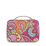 Vera Bradley Large Blush & Brush Makeup Case (Pink Swirls)