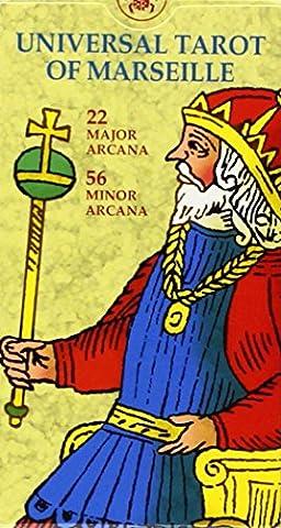 Universal Tarot of Marseille (English and Spanish Edition) (Spanish Cards Tarot)