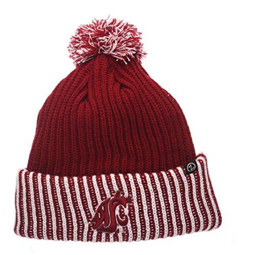 8c7c5edba01 Washington State Cougars Cuffed Knit Hats