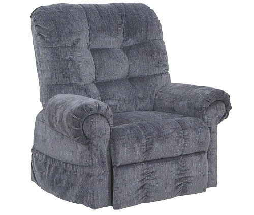 4827-2102-43 Catnapper Omni Power Lift Full Lay-Out Chaise Recliner (Black Pearl) Free Curbside Delivery