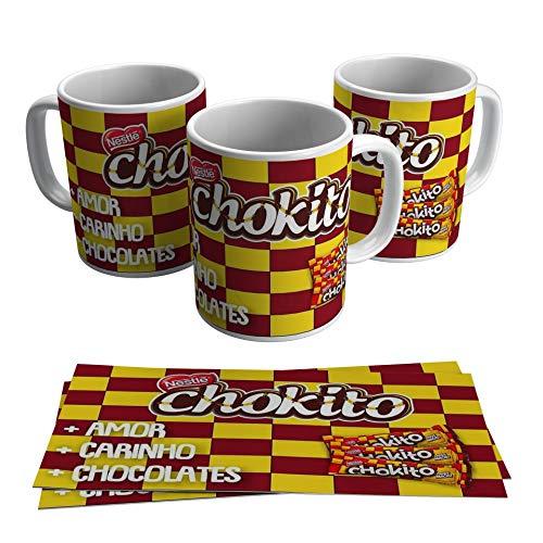 Caneca Chokito Presente Páscoa Namorada Chocolate Amor
