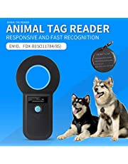 ISENVO Pet Microchip Scanner Bluetooth 2.4G RFID EMID Microchip Reader Scanner 134.2Khz/125Khz Standard FDX-B ISO11784/ISO11785 Pet Chip ID Scanner for Animal/Pets/Dogs/Cats/Pigs