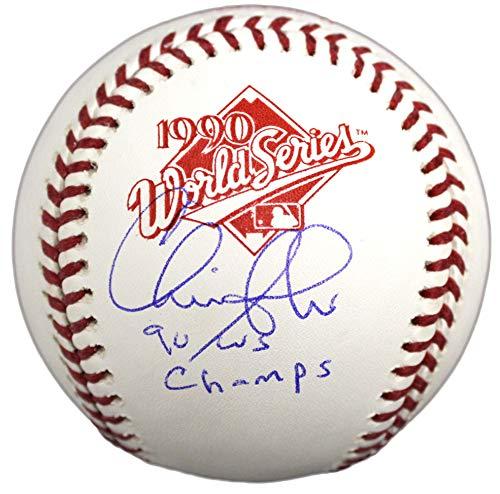 wlings 1990 World Series (Cincinnati Reds) Baseball w/90 WS Champs ()