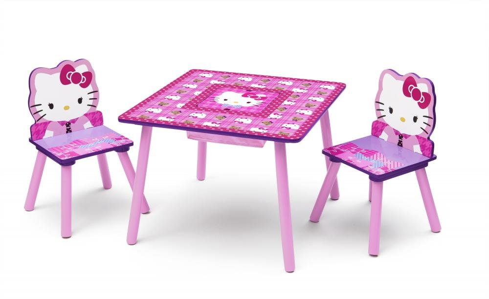 Hello Kitty Table and Chair Set with Storage TT89484HK