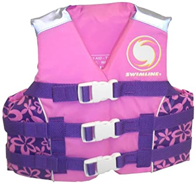 Swimline ULU Kids USCG Approved Life Vest - Girls-Large
