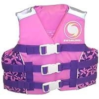 Chaleco salvavidas aprobado por USCG de Swimline Kids para niñas