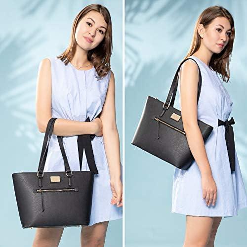 Purses for Women Fashion Handbags Tote Bag Shoulder Bags Top Handle Satchel Purse Set 3pcs