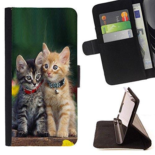 STPlus Gato en una caja Animal Monedero Carcasa Funda para Samsung Galaxy Note 8 #14