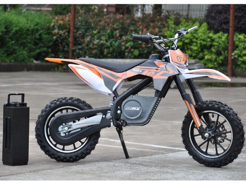 - MotoTec 24v Electric Dirt Bike 500w
