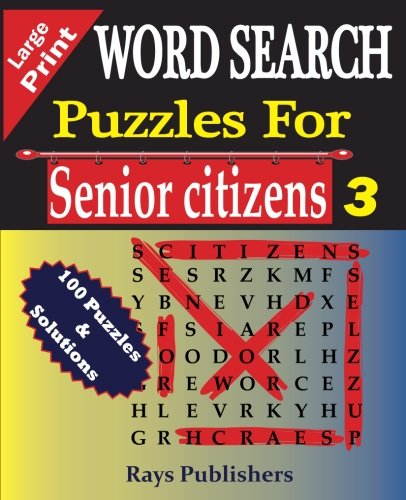 SEARCH Puzzles Senior Citizens Large product image