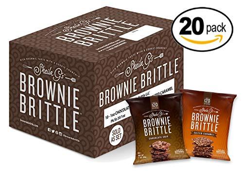Brownie Brittle, Salted Caramel ...
