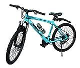 COSMIC FLASH MTB BICYCLE (21 SPEED) BLUE/WHITE