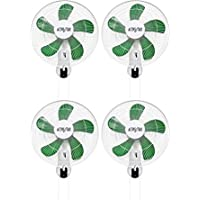 (4) HYDROFARM ACF16 Active Air 16 Wall Mountable Oscillating Hydroponic Fans